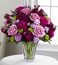 The Timeless Traditions™ Bouquet by FTD ® - CUT GLASS VASE INCLUDED
