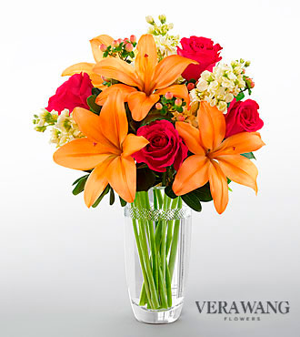 The FTD&reg; Luxe Looks&trade; Bouquet by Vera Wang