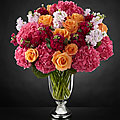 The FTD® Astonishing™ Luxury Mixed Bouquet by Vera Wang - 31 Stems - VASE INCLUDED