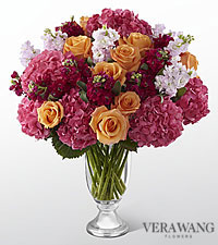 Le luxueux bouquet assorti Astonishing™ de FTD� par Vera Wang - 31 tiges - VASE INCLUS