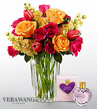 The FTD® Beauty and Grace™ Bouquet by Vera Wang with Fragrance