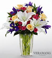 The FTD ® New Day Dawns™ Bouquet by Vera Wang - VASE INCLUDED