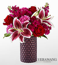 The FTD ® Vibrant Fuchsia ™ Bouquet by Vera Wang