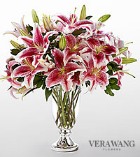 The FTD ® Stylish Stargazer™ Bouquet by Vera Wang - VASE INCLUDED