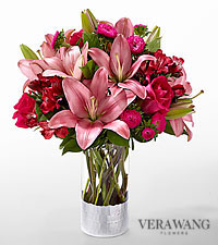 The FTD ® Primrose Garden™ Bouquet by Vera Wang - VASE INCLUDED