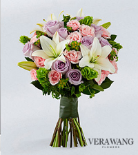 Vera Wang Delicate Dreams Fashion Bouquet - 21 Stems