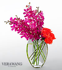 Vera Wang Pure Paradise Fashion Bouquet - VASE INCLUDED