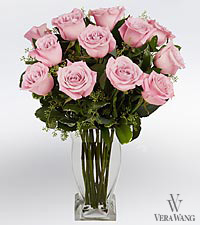 Vera Wang Pink Rose Bouquet