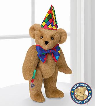 Vermont Teddy Bear 15-inch Celebration Bear