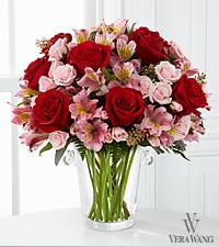 The FTD ® Graceful Wishes™ Bouquet by Vera Wang - VASE INCLUDED