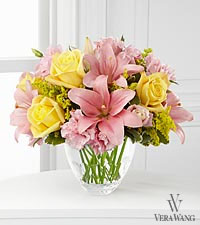 The FTD ® Sweet Effects™ Bouquet by Vera Wang - VASE INCLUDED