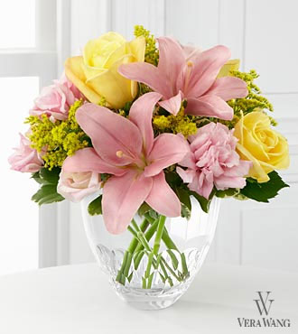 The FTD&reg; Sweet Effects&trade; Bouquet by Vera Wang - VASE INCLUDED