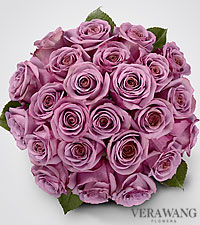 Vera Wang Lavender Rose Bouquet - 24 Stems Premium Roses - No Vase