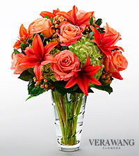 The FTD&reg; Dawning Delight&trade; Bouquet by Vera Wang