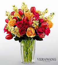 The FTD ® Beauty and Grace™ Bouquet by Vera Wang - VASE INCLUDED