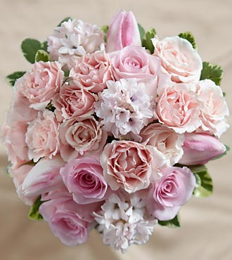 The FTD&reg; Dawn Rose&trade; Bouquet