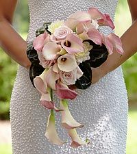 The FTD&reg; Pink Cascade&trade; Bouquet