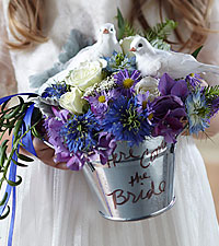 The FTD ® Enchantment™ Flower Girl Arrangement