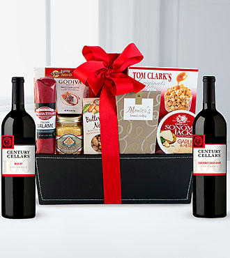 Spirited Gourmet Gift Basket