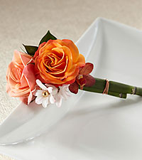 The FTD ® Sunset Dream™ Boutonniere