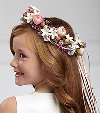 The FTD ® Lila Rose™ Headpiece