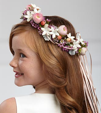 The FTD&reg; Lila Rose&trade; Headpiece