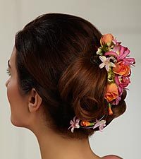 The FTD&reg; Flowers 'n' Frills&trade; Hair D&eacute;cor