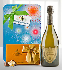 Celebrate with Dom Perignon & Godiva ®