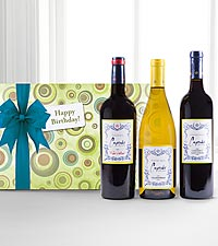 Cupcakes for Your Birthday Wine Gift Set