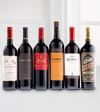 Quintessential Reds Wine Gift Set