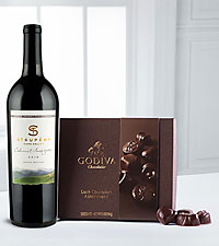 Perfect Selection Clos du Val Cabernet & Godiva&reg; Gift Set