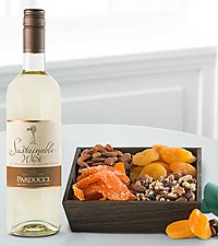 Wine & Dried Fruit Gift Set