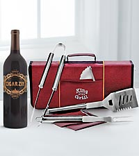 King of the Grill Wine Set
