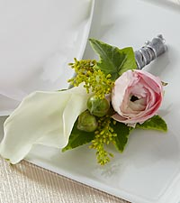The FTD ® Enchantment™ Boutonniere