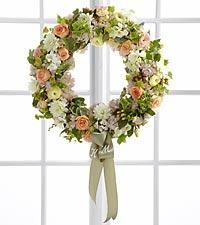 The FTD ® Garden Splendor™ Wreath