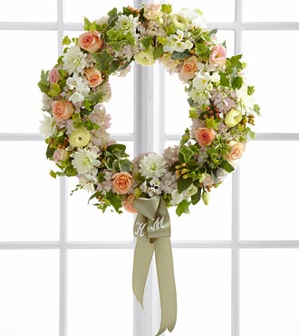 The FTD&reg; Garden Splendor&trade; Wreath