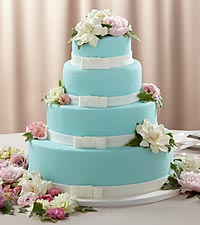 The FTD ® Infinite Love™ Cake Décor