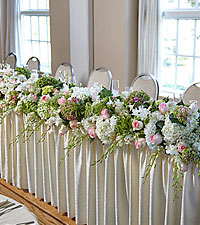 The FTD ® State of Bliss™ Head Table Arrangement