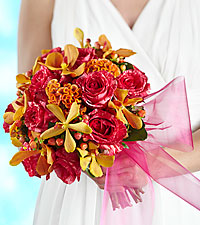 The FTD ® Brilliant Shades of Love™ Bouquet