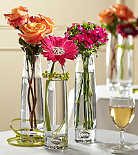 The FTD ® Sparkling Toast™ Centerpiece