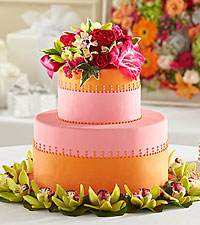 The FTD ® Sweet Citrus™ Cake Décor