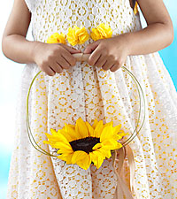The FTD ® Sweet Sunshine™ Flower Girl Bouquet