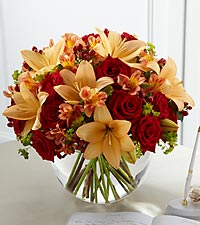 The FTD ® Lily & Rose Arrangement
