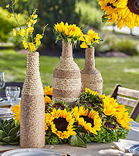 The FTD ® Sublime Garden™ Centerpiece