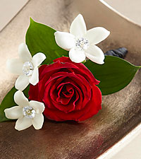 The FTD ® Poetry™ Boutonniere