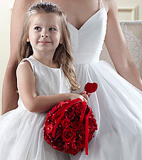 The FTD ® Pure at Heart™ Flower Girl Arrangement