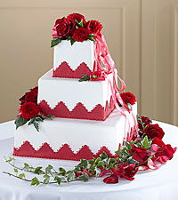The FTD ® Forever Happiness™ Cake Décor