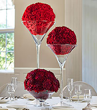 The FTD ® Our Special Vows™ Centerpiece