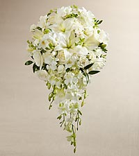 The FTD ® White Wonders™ Bouquet