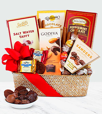 Chocolate Indulgence Basket - Good